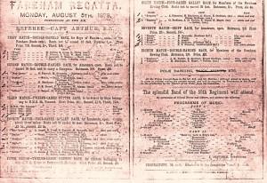 2 - Regatta Poster 1878
