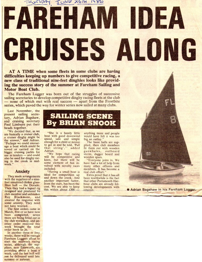 23 - Fareham Lugger News Clipping