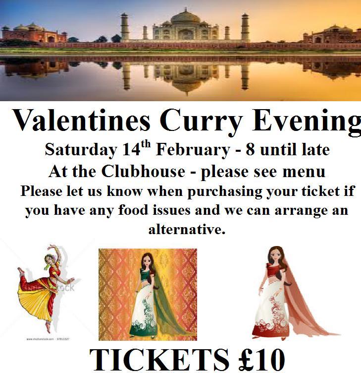 Valintines Night 2015 Curry