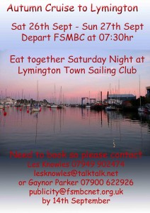 Cruise to Lymington 2015