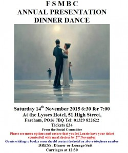Dinner Dance 2015 Poster