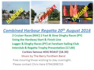 Combined Harbour Regatta 2016