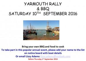 Yarmouth Rally 2016