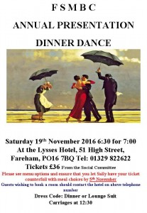 Annual Diner Dance 2016