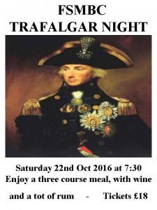 Trafalgar Night 2016