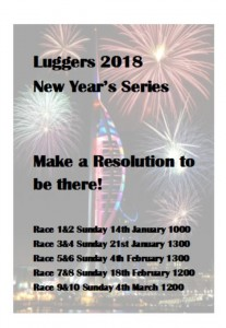 Luggers New Year Series poster